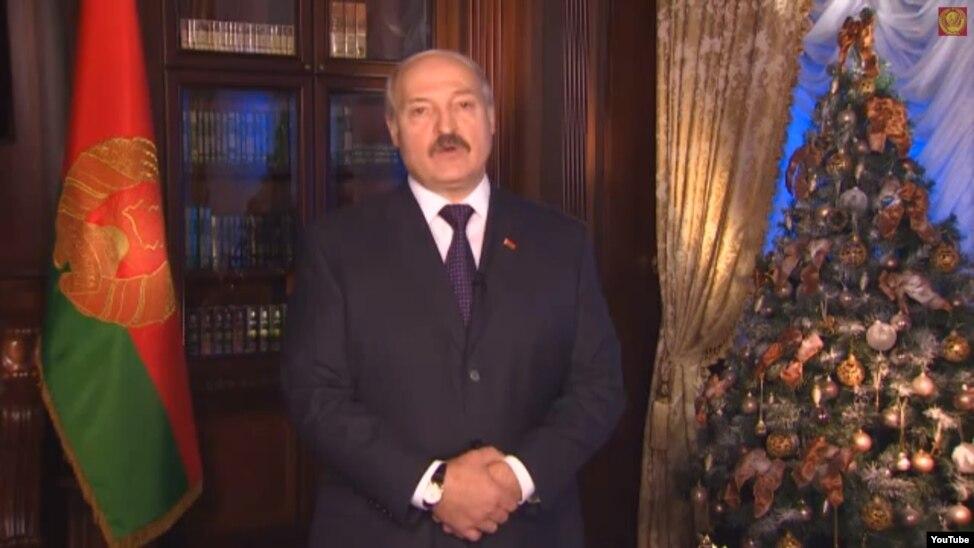 Поздравление новогоднее президента украины