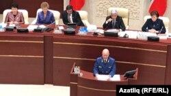Татарстан прокуроры Илдус Нәфыйков чыгыш ясый