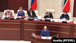 Баш прокурор Илдус Нәфиков Дәүләт шурасы утырышында чыгыш ясый