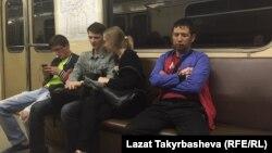 В московском метро. Иллюстративное фото.