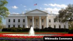 Bijela kuća u Washingtonu, ilustrovana fotografija