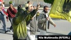 مناصرون لجماعة الإخوان المسلمين في تظاهرة سابقة بالقاهرة