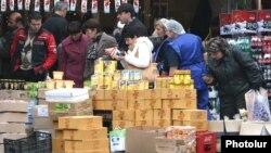 Yerevanda küçə alveri