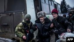 Эвакуация гражданских лиц из Дебальцево, 3 февраля, 2015 года