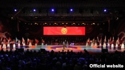 31-Азия чемпионатынын ачылыш аземи