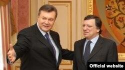 Зустріч президента Віктора Януковича з президентом Європейської комісії Жозе Мануелем Баррозу, м. Київ, 18 квітня 2011 року