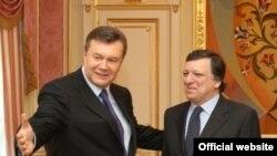 Зустріч Президента України Віктора Януковича з Президентом Європейської Комісії Жозе Мануелем Баррозу, Київ, 18 квітня 2011 року