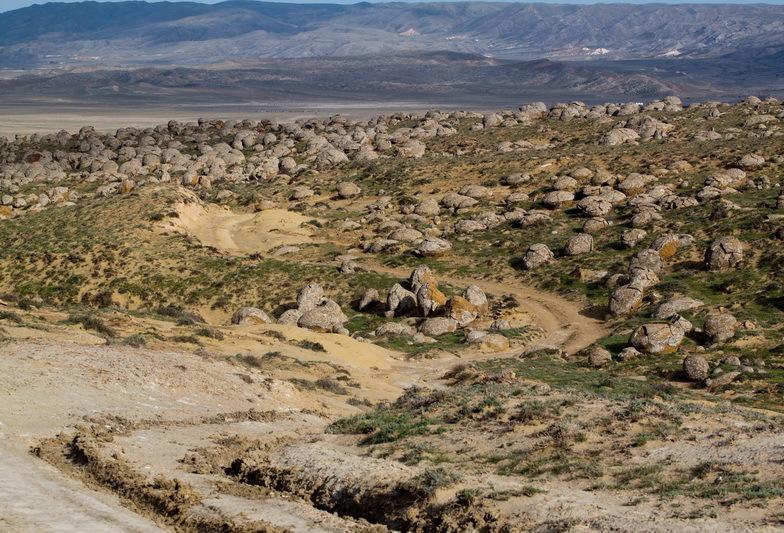 А эта долина с необычными шарами расположена в Казахстане?
