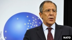 Russian Foreign Minister Sergei Lavrov said existing security arrangements in Europe are out of date.