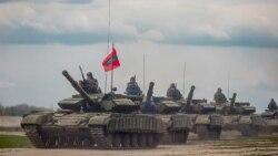 Trageri cu muniție de luptă în Transnistria