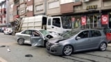 Kosovo: A truck hits several cars in downtown Prishtina
