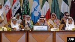بخشی از هیئت وزرای عربستان سعودی