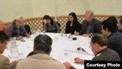 إجتماع لمؤسسي منتدى الرافدين للثقافة والفنون