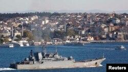 Ruska crnomorska flota na Bosforu, 2013.