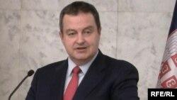 Српскиот министер за надворешни работи, Ивица Дачиќ