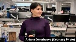 Айдана Өмүрбаева, программист.