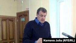 Николай Николайчук дает показания в суде