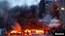 Киев. Улица Грушевского