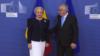 La primirea Vioricăi Dăncilăde către Jean-Claude Juncker, Bruxelles, 5 decembrie 2018