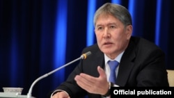 Экс-президент Алмазбек Атамбаев.