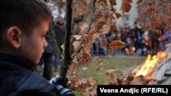 Badnje veče u Beogradu