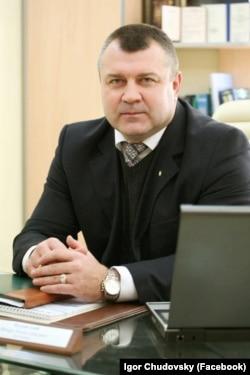 Ігор Чудовський, адвокат, переселенець із Луганська