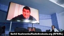 Олександр Онищенко на прес-конференції, архівне фото