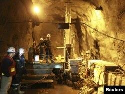 Работы в тоннеле
