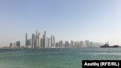 Вид на Дубай. Иллюстративное фото.