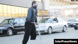Վրաստան - Ախմեդ Չատաևը դուրս է գալիս Թբիլիսիի դատարանից, արխիվ