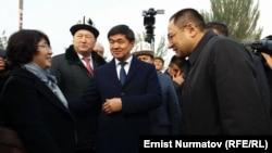 Встреча узбекской делегации.