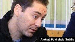 Голова адміністрації Феодосії Дмитро Щепетков у Київському районному суді, архівне фото