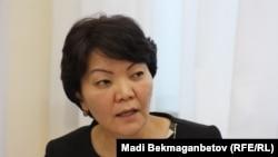Светлана Жакупова, вице-министр здравоохранения и социального развития. Астана, 10 ноября 2016 года.