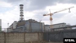 The nuclear power plant at Chornobyl in 2006.