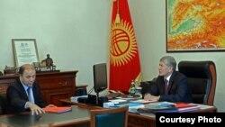 Мелис Турганбаев жана Алмазбек Атамбаев