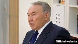 Қазақстан президенті Нұрсұлтан Назарбаев. Атырау, 6 ақпан 2014 жыл.