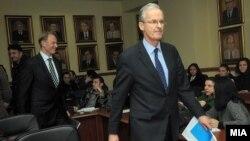 Кристијан Даниелсон, генерален директор на Директоратот за проширување во Европската комисија.