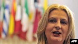 Shefja e delegacionit kosovar për dialogun teknik Kosovë - Serbi, Edita Tahiri