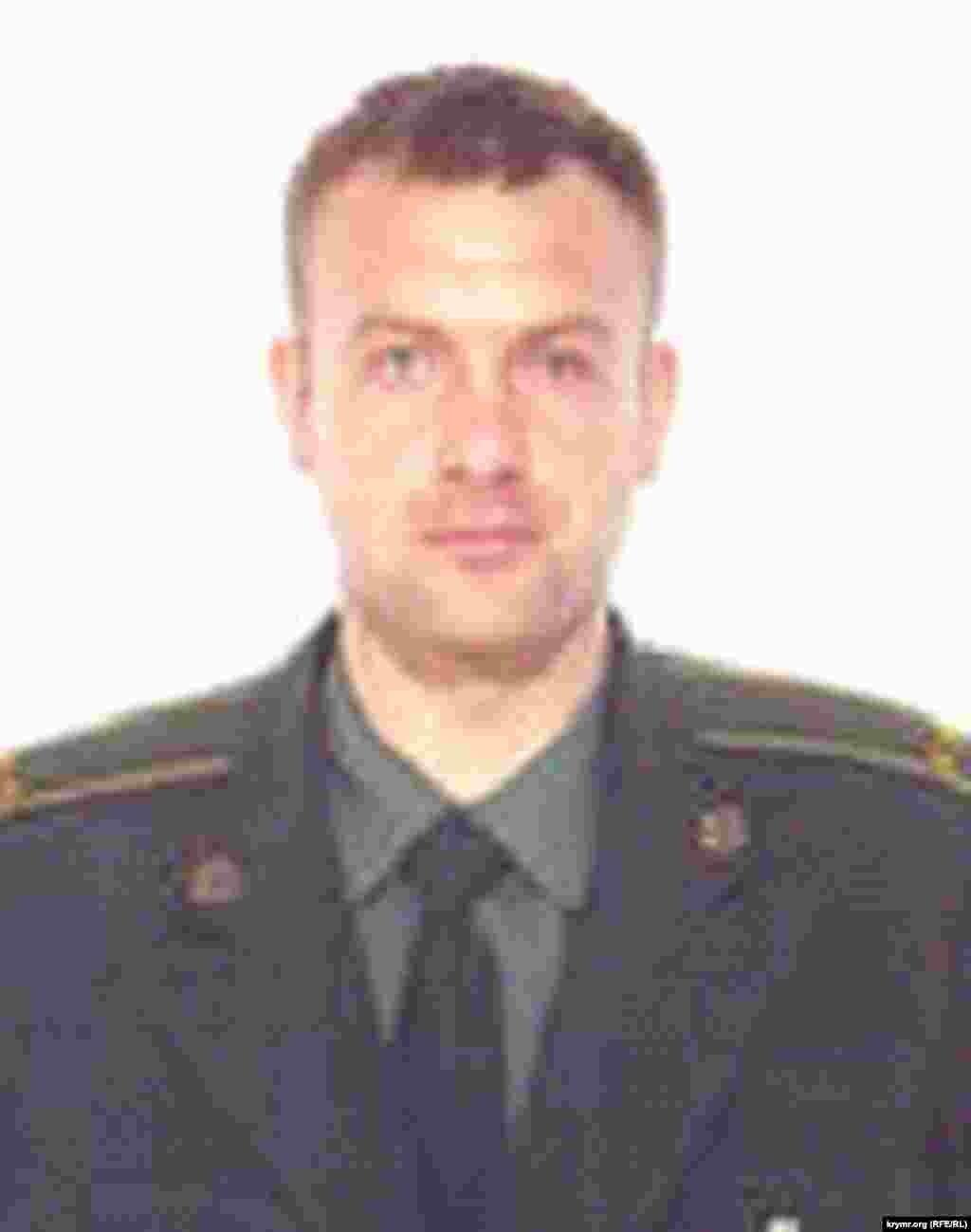Сергей Марков, бывший оперуполномоченный главного отдела защиты национальной государственности крымского главка СБУ, лейтенант