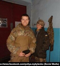 Юля та Ілля побралися за три місяці після знайомства, а через рік підписали контракти із ЗСУ