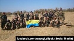 Співак Василь Сліпак (крайній праворуч)(фото із соцмереж)