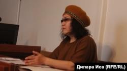 Гражданская активистка Ардак Ашим.
