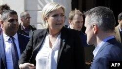 خانم مارین لوپن، نامزد راستگرایان افراطی فرانسه