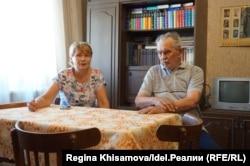 Марина Сапунова и Альберт Кокорин
