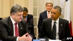 Petro Poroshenko, Barack Obama