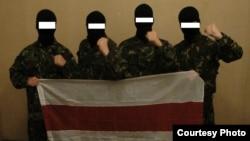 Беларусы з добраахвотніцкага атраду «Пагоня» (архіўнае фота)