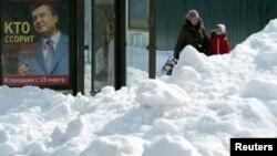 Київ після снігопаду, фото 27 березня 2013 року