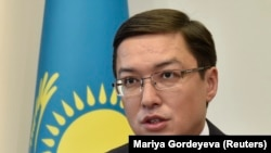 Председатель Национального банка Казахстана Данияр Акишев. Алматы, 22 февраля 2017 года.