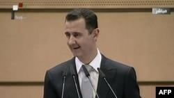 Президент Сирии Башар аль-Ассад. Дамаск, 10 января 2012 года.