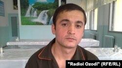 Ромиз Шарифов, сарбози 25-солаи баталйони зудамали посдори сулҳи Вазорати дифоъ